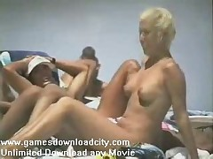 Eurobeach - Nude Girl - Beach - Nudist