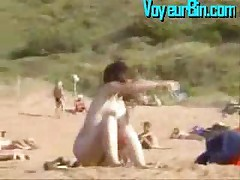 Hot Italian Teen Filmed On Nudist Beach