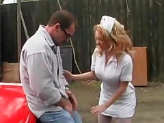 The Cum Nurse Kiki Daire