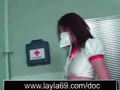 Nurse Fucks Patients Cock