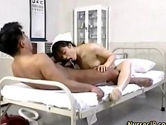 Slutty Japanese Nurse Gets Hot