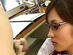 Dirty Japanese Nurse In Spex