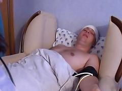 Nurse Eating Jizz