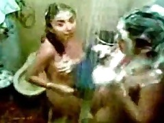 Indian Hostel Girls Expose And Enjoy In Shower