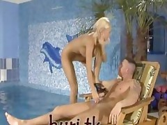 Girl Fucked Hard Anal Sex In Swiming Pool
