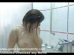 Spy Cam Beautiful Girl Under Shower