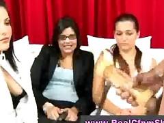 Masturbating For Girls At Cfnm Party