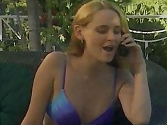 Two Lesbians Play By The Pool