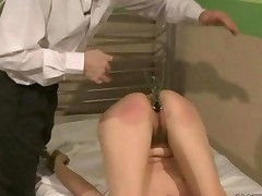 Girl Getting Painfully Punished