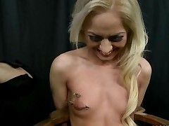 Blonde Getting Punished And Fucked
