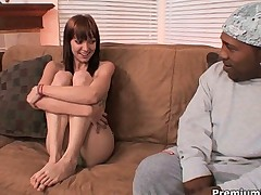 Teenie Beaue Marie banged by monster