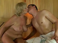 Sauna sex videos