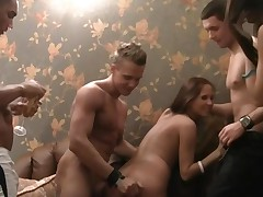 Hot Sauna Groups Sex