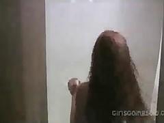 Wild Girl Masturbating In Shower
