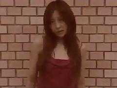 Japanese Cutie Takes Sticky Bukkake Shower