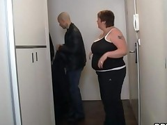 Huge Bbw Gets Banged In The Shower
