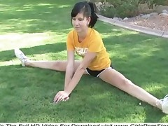 Tasha Naked Gymnastic Exercises