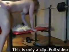 Hard Homemade Gym Sex