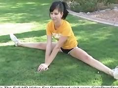 Tasha Naked Gymnastic Exercises