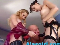 Aiden And Sasha Grey Strapon Attack Part1