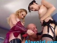 Aiden And Sasha Grey Strapon Attack Part1