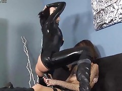 Tasty Lesbian Women Drill Their Tight Holes And Assholes..