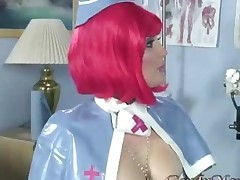 Cuckold Queen Candy Monroe Busted Redhaired Tattooed Nurse