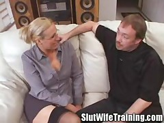 Teacher Gets A Slut Training Lesson