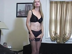 Blondie Jerk Off Teacher Teases And Humiliates Pathetic..
