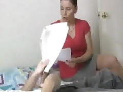 Private Teacher Sucking