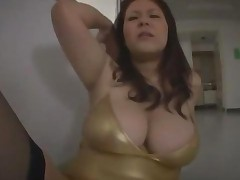 Teacher With Huge Tits Fucked With Vibrator On The Corridor..