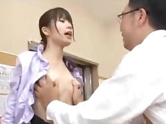 Schoolgirl Getting Her Shaved Pussy Fucked Hard By Her Teacher..