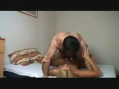 Amateur Home video of man fucking his wife