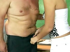 Hot Teen Fucking With Her Old Teacher