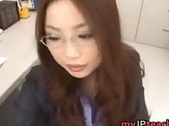 Gorgeous Teacher An Mashiro Fucks On Her
