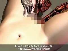 Cockhungry Anime Teacher Rides A Dick With Her Wet Pussy