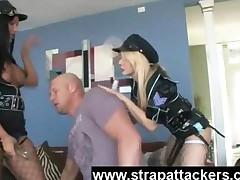 Uniform Femdom Attack