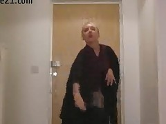 Gorgeous Maid In Sexy Uniform Posing Softcore Play