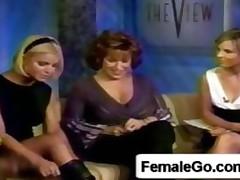 Blonde Upskirt Pussy