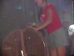 Spring Break Upskirt Video