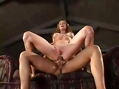 Anal Driller On A Blonde Bride