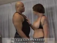 Horny Babe Wrestles A Black Cock2