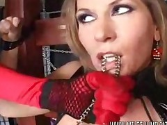 A Milf Recieves A Big Punishment