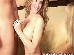 Anna Miller In A Hot Wife Swinger Threesome