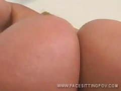 Hot Facesitting Dominatrix Pussy And Ass Closeup