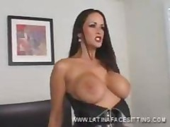 Latina Nude Domina Facesitting
