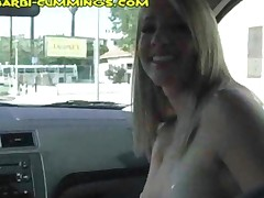 Flashing While Riding In A Car