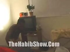 Shorty The Black Midget With The 12 Inch Dick Fucks A Ebony..