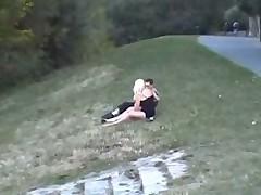 crazy public park sex
