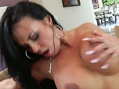 Latin mommy fucked by black cock